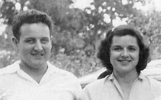 John and Virginia Scott, Pittsburg, KS, 1949
